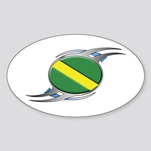 Nitrox:Dragons Oval Sticker