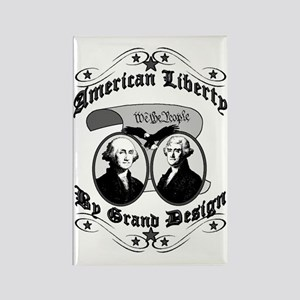 American Liberty Rectangle Magnet