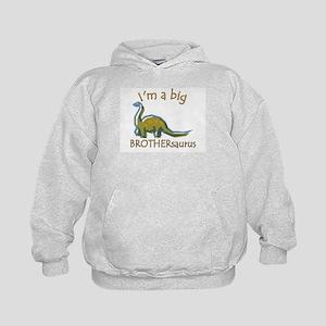 I'm a Big Brothersaurus Kids Hoodie