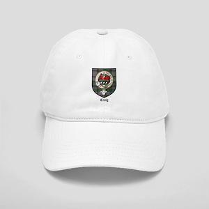 Craig Clan Crest Tartan Cap