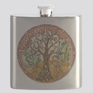 Tree of Life Flask