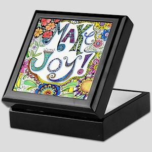 Make Joy Keepsake Box