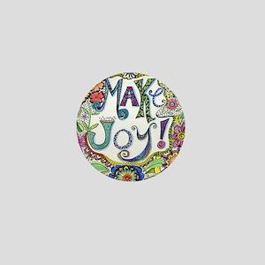 Make Joy Mini Button