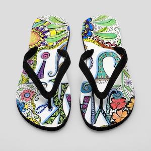 Make Joy Flip Flops