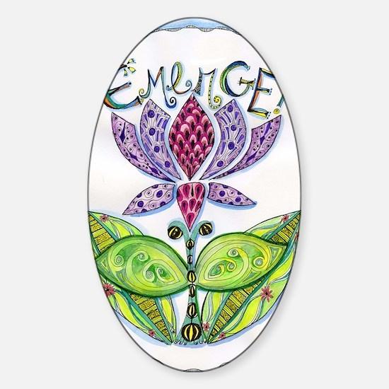 Emerge Sticker (Oval)