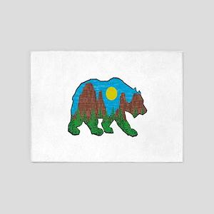 BEAR CANYONEER 5'x7'Area Rug