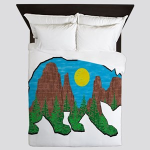 BEAR CANYONEER Queen Duvet