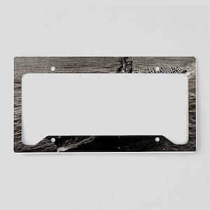shangrila cv large framed pri License Plate Holder