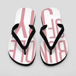 Bundle of Joy in Pink Flip Flops