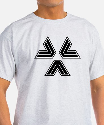 Almost Human Police Black Triangles T-Shirt