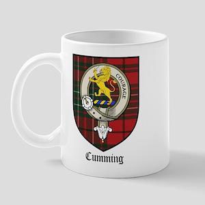 Cumming Clan Crest Tartan Mug