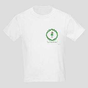 I'm a wee bit of Irish -girl Kids T-Shirt