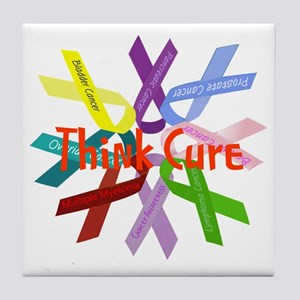 Think Cure Tile Coaster