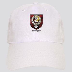 Cunningham Clan Crest Tartan Cap