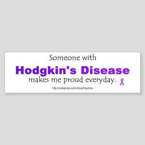 Hodgkin's Pride Bumper Sticker