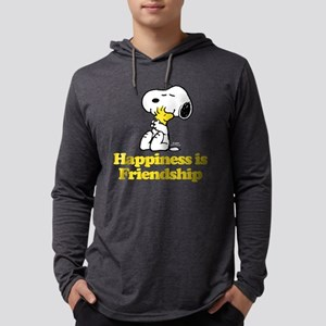 Happiness is Friendship Mens Hooded Shirt