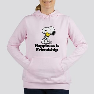 Happiness is Friendship Women's Hooded Sweatshirt