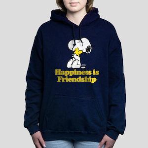 Happiness is Friendship Women's Hooded Sweatshirt