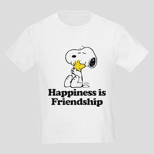 Happiness is Friendship Kids Light T-Shirt