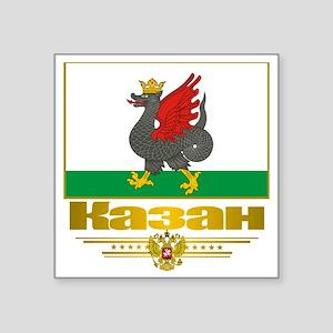 """Kazan Flag Square Sticker 3"""" x 3"""""""