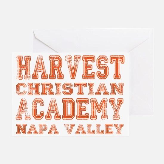 HCA napavalley orange Greeting Card