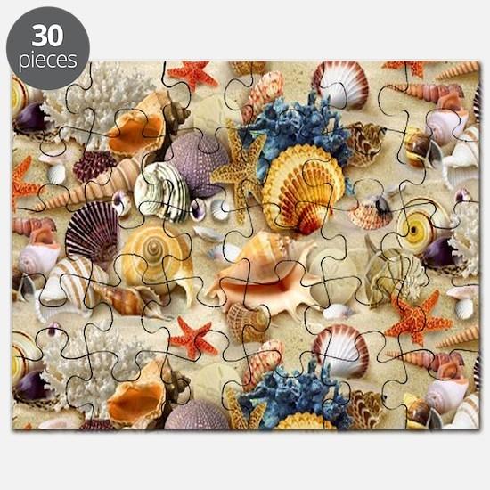 Fancy Seashell Puzzle