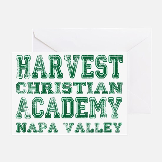 HCA napavalley green Greeting Card