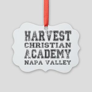 Harvest Christian Academy Napa Va Picture Ornament