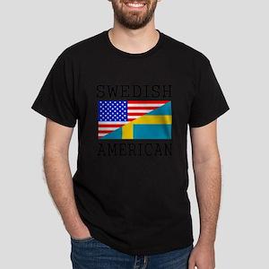 Swedish American Flag T-Shirt