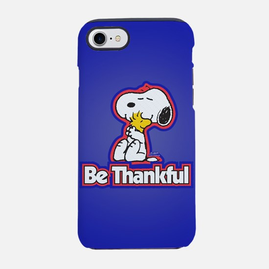 Peanuts Be Thankful iPhone 7 Tough Case