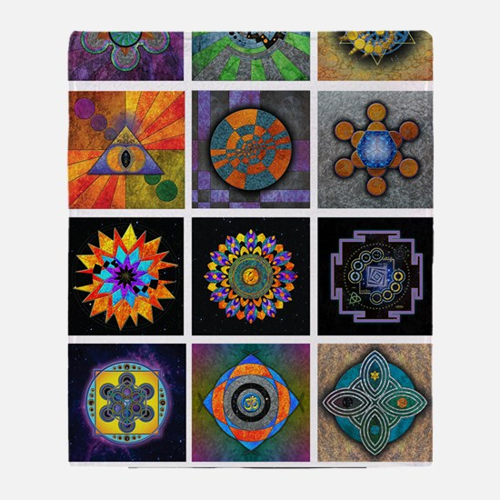 6x6 print collection A Throw Blanket