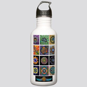 6x6 print collection A Stainless Water Bottle 1.0L