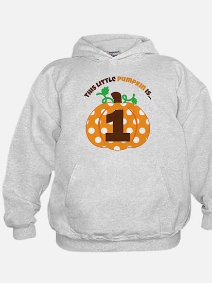 Pumpkin 1st Birthday Sweatshirt