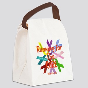 Running for the CURE Canvas Lunch Bag