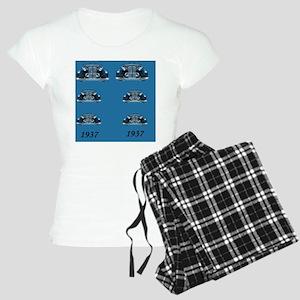 Mandrake 37 Blue FF Women's Light Pajamas