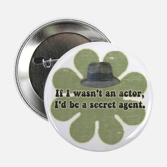 """Secret Agent 2.25"""" Button"""