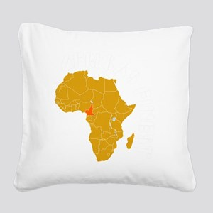 cameroon1 Square Canvas Pillow