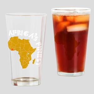 cotedivoire1 Drinking Glass