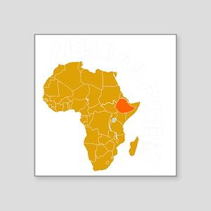 "ethiopia1 Square Sticker 3"" x 3"""