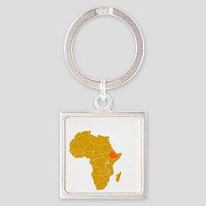 ethiopia1 Square Keychain
