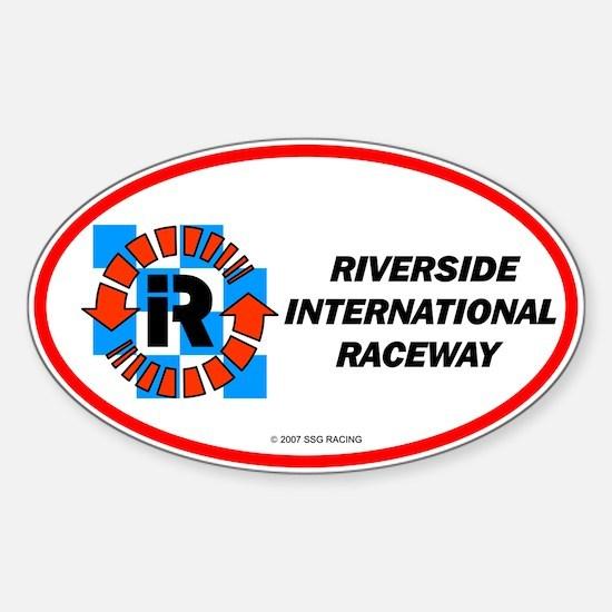 Riverside International Racew Oval Decal