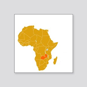 "zambia1 Square Sticker 3"" x 3"""