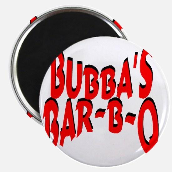 Bubbas Bar B Q Magnet