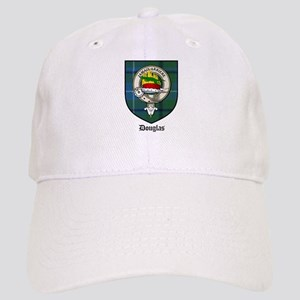 Douglas Clan Crest Tartan Cap