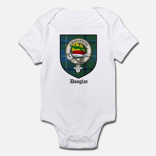 Douglas Clan Crest Tartan Infant Bodysuit