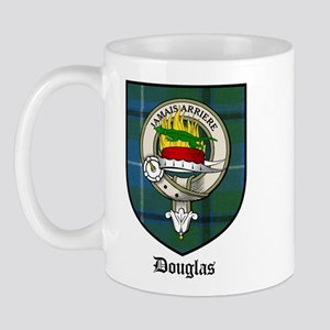 Douglas Clan Crest Tartan Mug