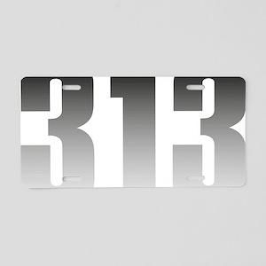 313 Detroit Aluminum License Plate
