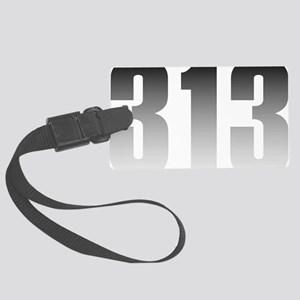 313 Detroit Large Luggage Tag