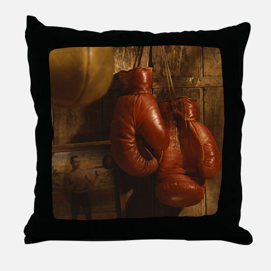 Boxing Throw Pillow
