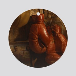 Boxing Round Ornament